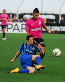 Maikel Chang, Midfielder, Charleston Battery. Charleston Battery Midfielder Maikel Chang #12 Stock Photo