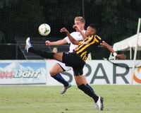 Maikel Chang, Midfielder, Charleston Battery. Charleston Battery Midfielder Maikel Chang #12 Royalty Free Stock Photo