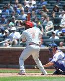 Maikel Franco. Philadelphia Phillies 3B Maikel Franco, #7 Royalty Free Stock Photo