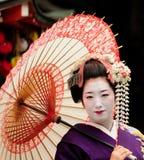 日本maiko 图库摄影