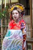 Maiko, Apprentice geisha, in Kyoto Royalty Free Stock Image
