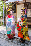 Maiko, Apprentices geisha, in Stock Photos