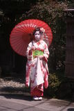 Maiko and geisha Stock Photo
