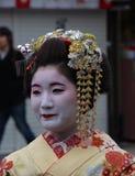 Maiko Geisha costum rental/make-over Stock Photos