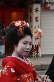 Maiko Geisha costum rental/make-over Royalty Free Stock Images