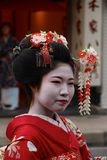 Maiko Geisha costum rental/make-over Stock Image