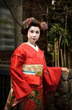 Maiko Geisha Kyoto Japan Stock Photo