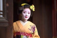 Maiko giapponese fotografia stock