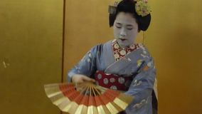 Maiko, Kyoto, Japan stock video footage