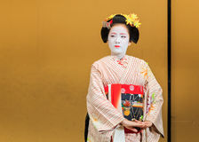 Maiko in Kyoto Stock Photography
