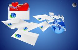 Mail. Royalty Free Stock Photos