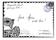 Mail from Africa Stock Images