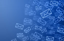 Mail background Royalty Free Stock Image
