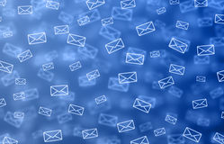 Mail background Royalty Free Stock Photos