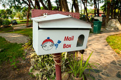 Mail box. Cute Mail box for letter Stock Image