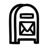 mail box icon royalty free illustration