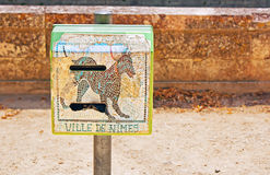 Mail box in Nimes Stock Photography
