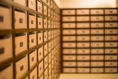 Mail boxes. Postal for get your documents stock photo