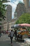 Mail Brooklyn New York City de Fulton photos stock