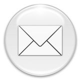 Mail button Stock Photography