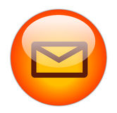 Mail Button Royalty Free Stock Image