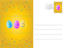 Mail, card for easter Royalty Free Stock Photography