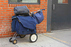 Mail Carrier Bags Royalty Free Stock Photo