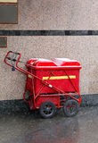 Mail cart Royalty Free Stock Images