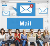 Mail Communication Connection Global Letters Concept Royalty Free Stock Images
