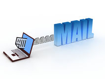 Mail concept Stock Images