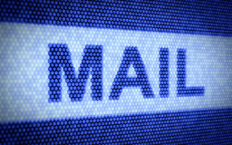 Mail concept Royalty Free Stock Images