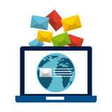 Mail concept Royalty Free Stock Photography