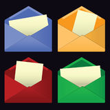 Mail covers Royalty Free Stock Photography