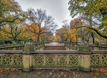 Mail de Central Park photos libres de droits