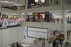 Mail de centre commercial, Lahore, Pakistan Photographie stock libre de droits