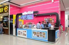 Mail de centre commercial, Lahore, Pakistan Photos stock