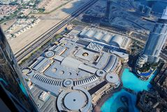 Mail de Dubaï Image libre de droits