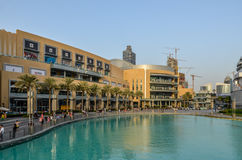 Mail de Dubaï, Dubaï, Emirats Arabes Unis Image libre de droits