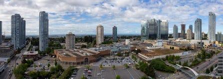 Mail de Metrotown dans Burnaby, Vancouver, pendant la journ?e photo stock