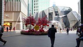 Mail de pavillon en Kuala Lumpur banque de vidéos