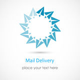 Mail Delivery Royalty Free Stock Images