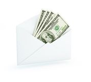 Mail dollar Stock Photo