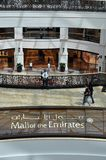 Mail du signe d'Emirats Photos libres de droits