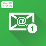 Mail email envelope icon. Business concept e-mail inbox pictogra Royalty Free Stock Photo