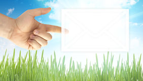 Mail envelope Stock Image