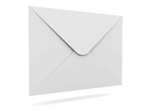 Mail Envelope. On white background with shadow royalty free illustration