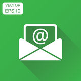 Mail envelope icon. Business concept email pictogram. Vector ill stock illustration