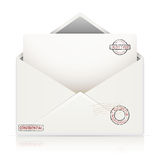Mail envelope Royalty Free Stock Photo