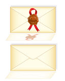 Mail envelope letter Royalty Free Stock Photography