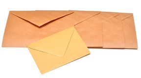 Mail envelopes Royalty Free Stock Images
